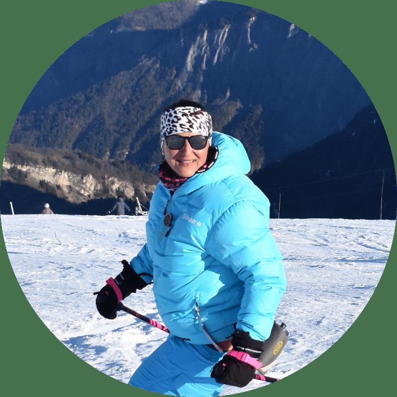 Sihame el Horfi, Monitrice de ski Ecole le Corbier - les Sybelles